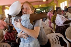 Emory University nurses working in Jamaica
