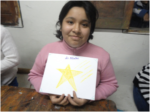 Lynsay of Filadelfia shares her star picture.