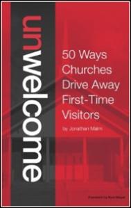 unwelcome church book