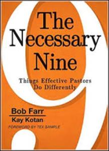 Necessary Nine book