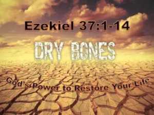 Ezekiel Dry Bones passage