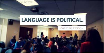 Language is Political