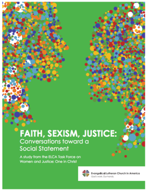 Faith Sexism Justice