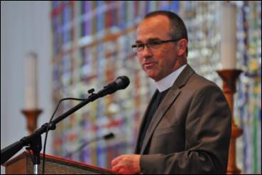 Pastor Blair Lundborg