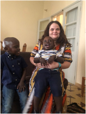 hannah johnson, young adult in global mission senegal
