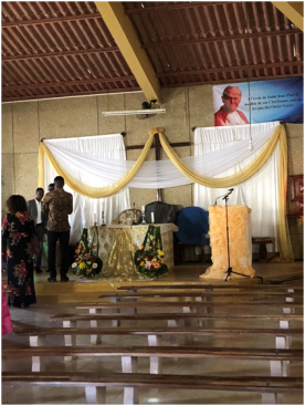 yagm catholic church in guediawaye