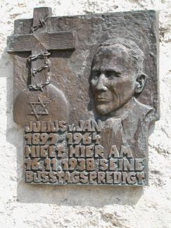 Julius von Jan plaque